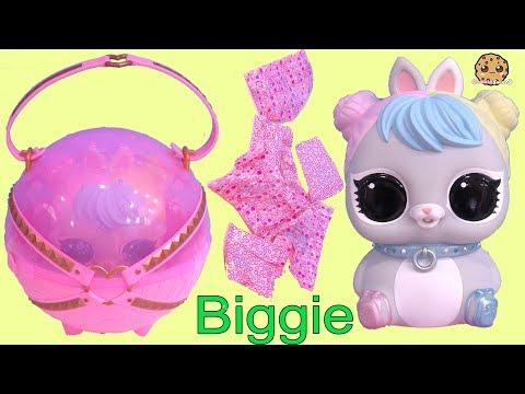 BIG Mom + Baby LOL Surprise Biggie PETS ! Eye Spy Blind Bags