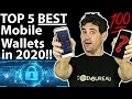 BEST Mobile Crypto Wallets: 5 TOP Choices!!