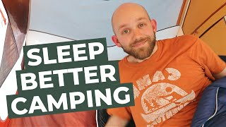 How To Sleep Comfoŗtably in a Tent (Camping Tips)