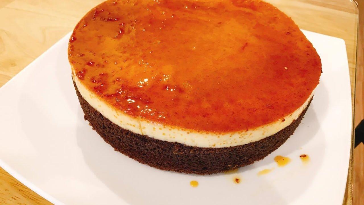 Kết quả hình ảnh cho bánh flan socola