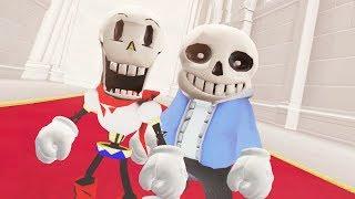 Super Mario Odyssey - Sans & Papyrus Final Boss + Ending