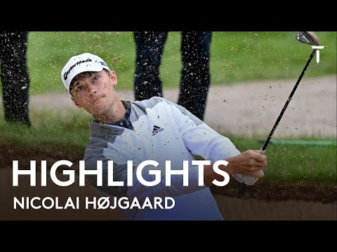 Nicolai Højgaard Round 3 Highlights | 2021 DS Automobiles Italian Open