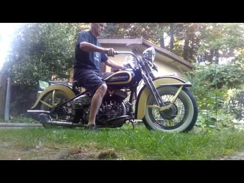 FOR SALE 1947 Harley Flathead YouTube