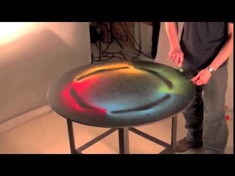 The Geometry of Sound: Watch Artist Kenichi Kanazawa Make Amazing Geometric Designs Out of Sand, Using Sound Waves Alone