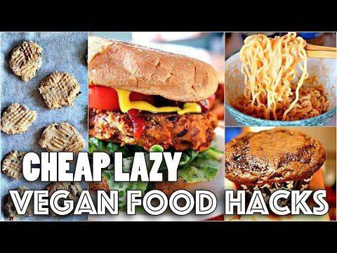 VEGAN FOOD HACKS YOU NEED TO KNOW