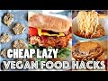 VEGAN FOOD HACKS YOU NEED TO KNOW