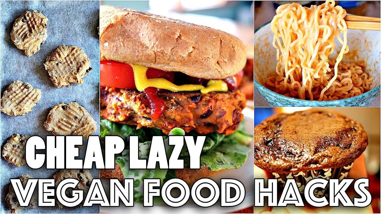 Vegan food hacks you need to know youtube for V kitchen restaurant vegetarian food