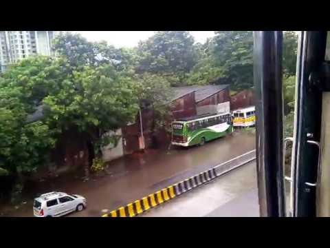 Mumbai local Train in monsoon Travel