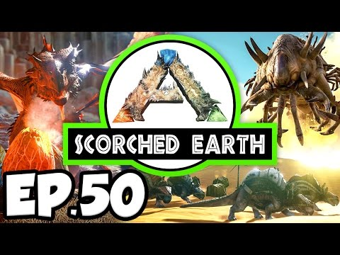 ARK: Scorched Earth Ep.50 - IMPROVED WYVERN EGG INCUBATION AREA!!! (Modded Dinosaurs Gameplay)