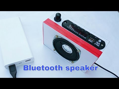How to  Make a Amplifier Bluetooth Speaker