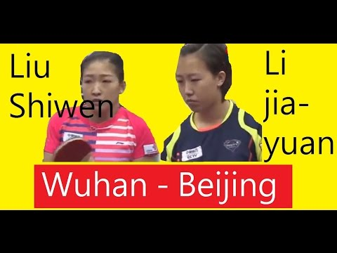 [TT SupaLiga] (English Noted) Liu Shiwen (Wuhan), Li Jiayuan(Beijing)