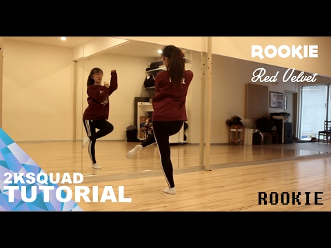 [TUTORIAL] RED VELVET (레드벨벳) - ROOKIE (루키) | Dance Tutorial by 2KSQUAD