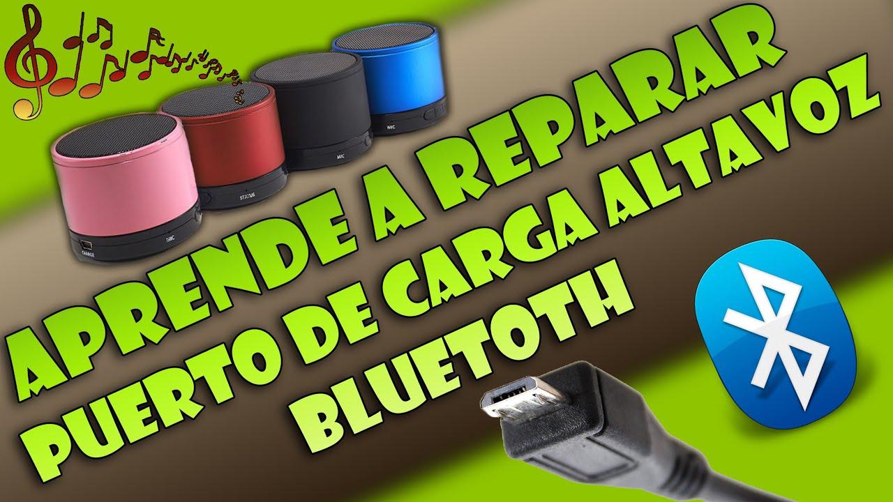 Reparar Puerto De Carga Altavoz Bluetooth Jam Classic