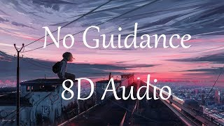 Chris Brown  ft. Drake - No Guidance (8D AUDIO)