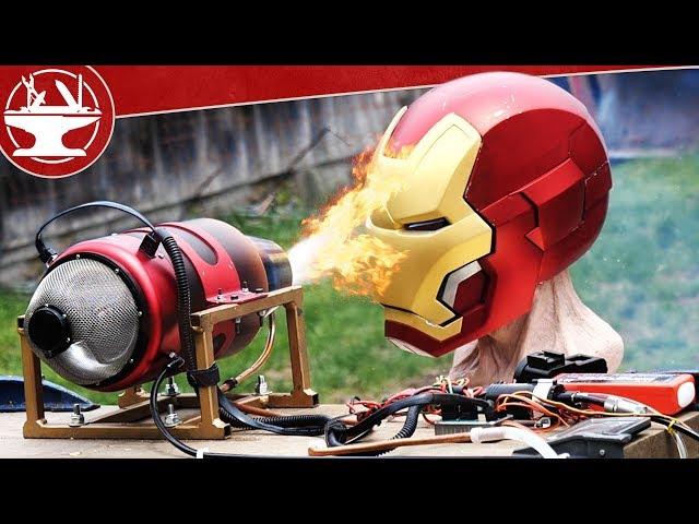 Jet Engine vs IRON MAN! (MAKE IT BREAK)