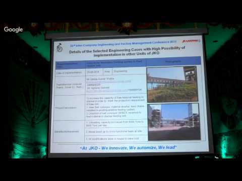 Live Webcast of Inagural Function of 23rd JKO Inter Company Exchange Engineering and Factory Mana...