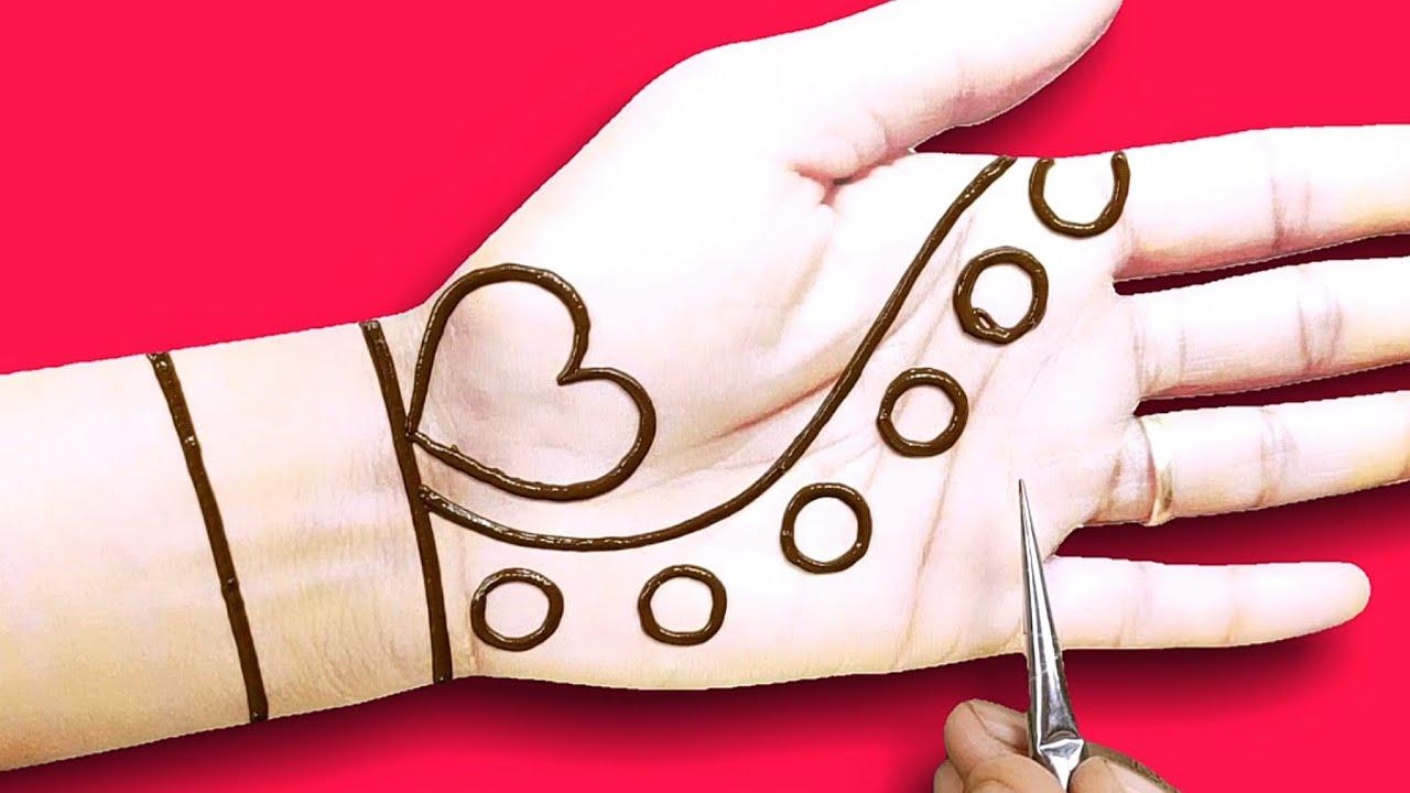 Download very easy,beautiful front hand arebic,bridal dulhan mehndi design-navratri/Ramzan Eid special mehndi