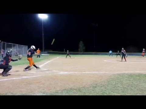 Bethanie Hudson 2017 Home Run #4 Globe High School