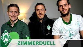 Zimmerduell ***SPEZIAL*** mit Max Kruse, Aron Johannsson & Justin Eilers | SV Werder Bremen