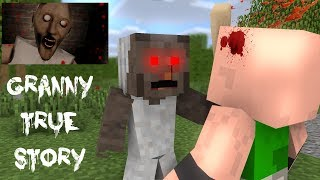 - Monster School GRANNY S LIFE PART 1 TRUE STORY Minecraft Animation
