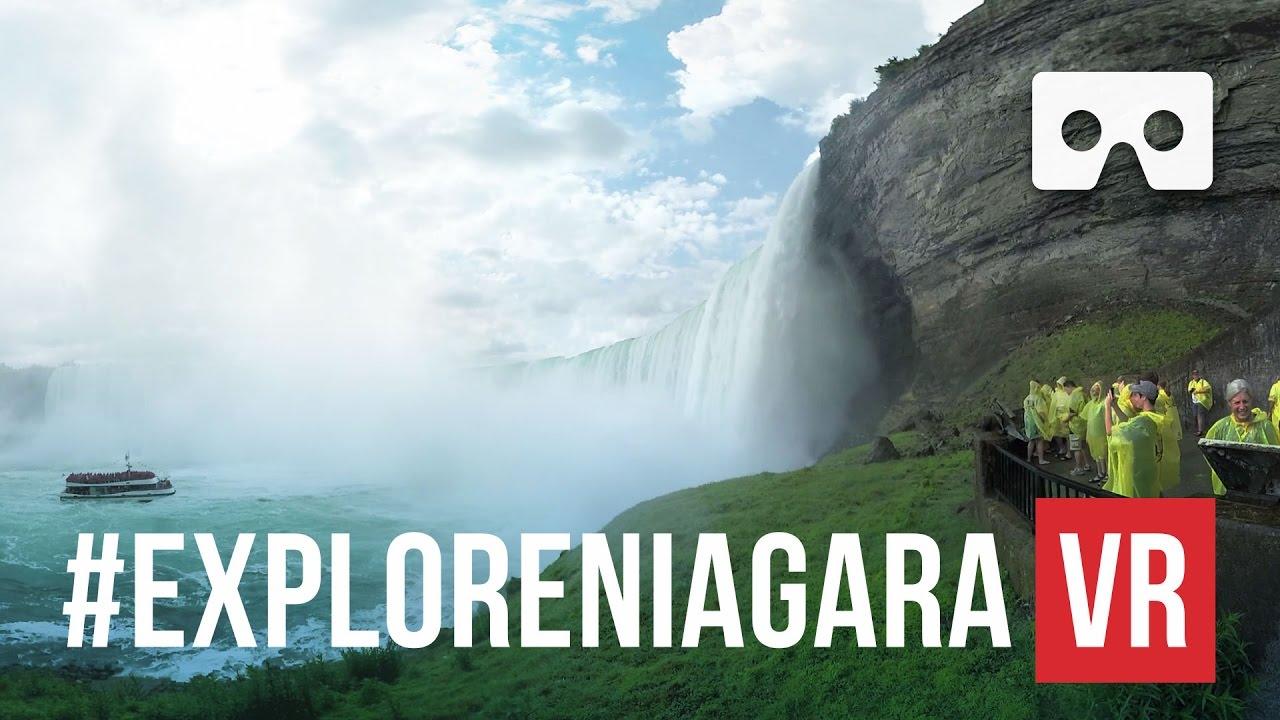 niagara falls canada vr 360 nftvr youtube