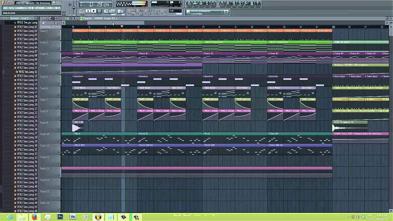 Virtual riot melodic supersaw dubstep in fl studio [seven lions.