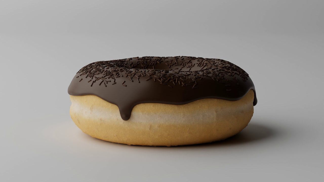 Turntable Animation: Donut [Blender Cycles]