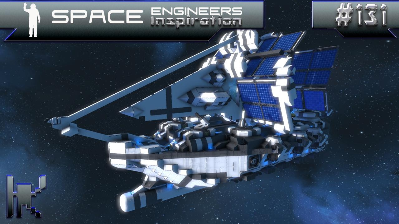 Space Engineers Inspiration Episode 131 Hugo Caroline