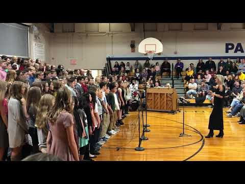 """Brie PAPILLION Middle school choir """"I will remember you"""""""