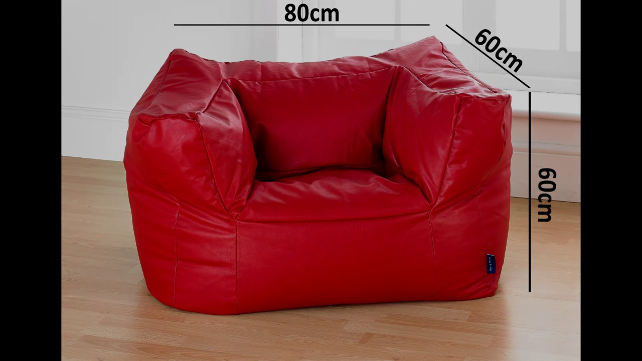 Gaming Bean Bag Chair And Footstool
