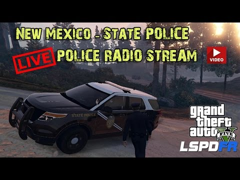 GTA 5 LSPDFR - New Mexico State Police - Live Radio