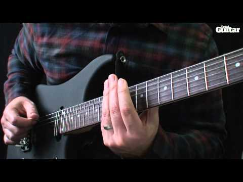 Guitar Lesson: How to play harp harmonics