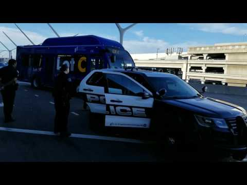 Do not fly when you have A warrant us customs calls Laxpd