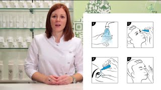 Gotas para los ojos o colirio, cómo aplicarlas correctamente