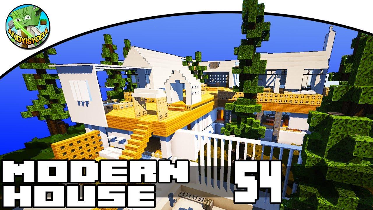 Minecraft modern house showcase