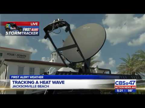 First Alert StormTracker: Action News Jax launches Jacksonville's only high-tech TV station vehicle