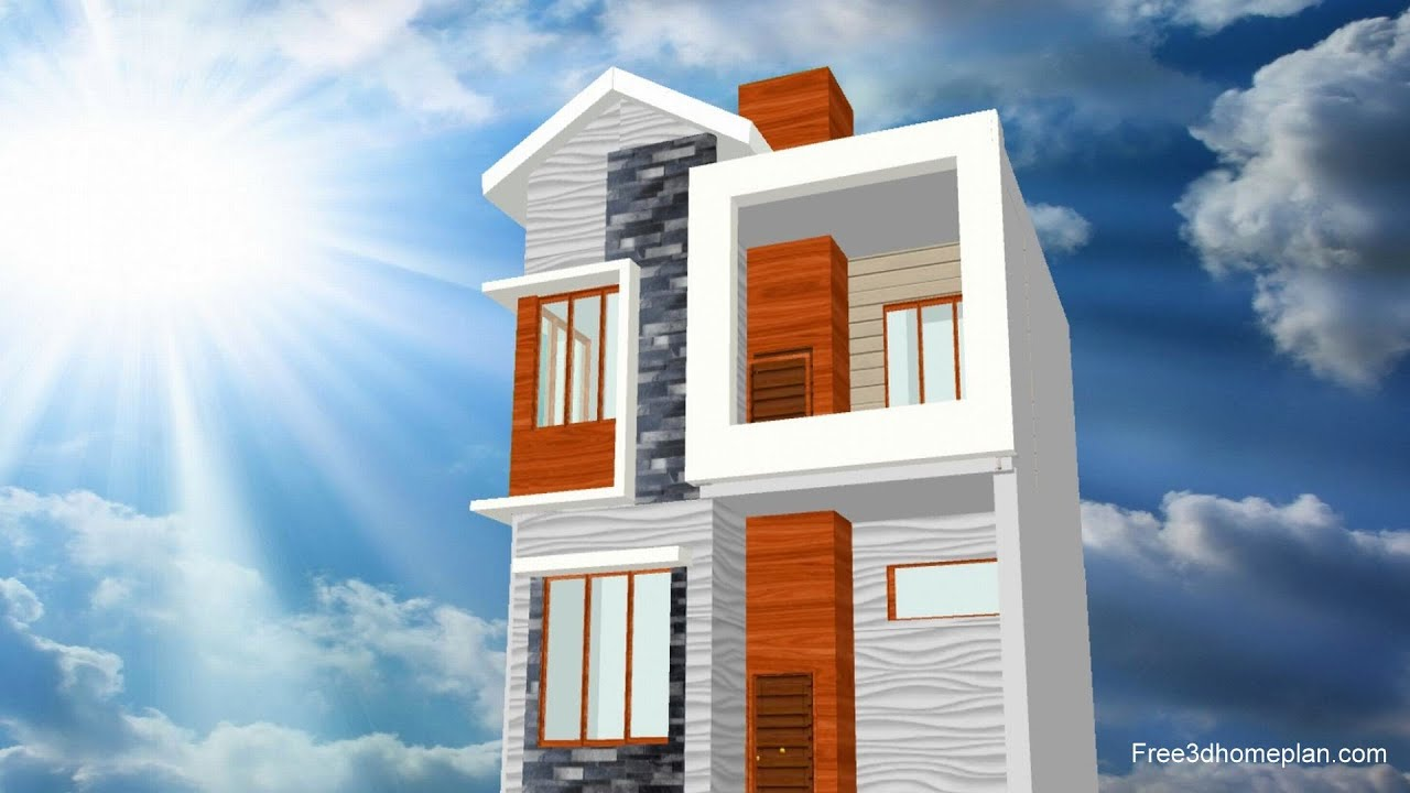 10 x 10 metres Small House design Plan for 30 Lac with House Front Elevation and CAR Parking  2020