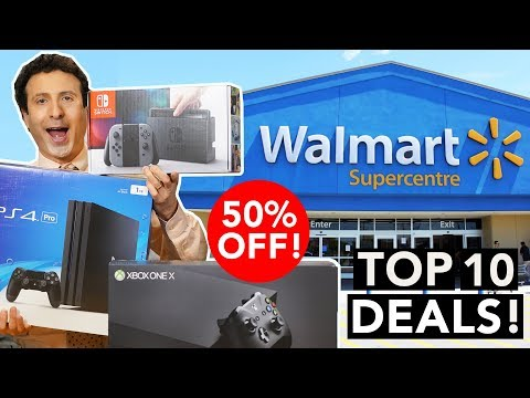 Top 10 Walmart Black Friday 2017 Deals