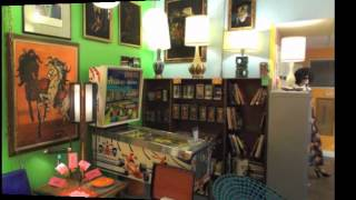 SQUARESVILLE Vintage Clothing & Retro Home Decor .The new location store tour.
