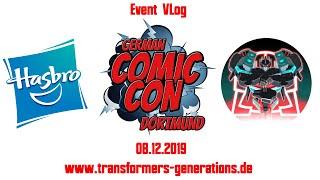 Event VLog - Mein Besuch auf der German Comic Con Dortmund 2019