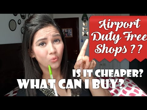 Airport Duty Free Shops !