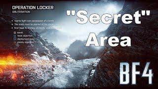 """Battlefield 4 - Operation Locker - """"Secret"""" Area"""