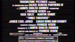 Beaches/Three Fugitives TV Trailer 1989