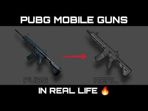 PUBG Mobile Guns In Real Life (AR - Assault Riffles) | Pubg Weapons In Real Life 🔥