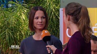 Christina Stürmer - Überall zu Hause - Interview + Auftritt Live @ ZDF Morgenmagazin 9.4.2019
