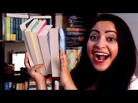 Book Haul   7 New Books – Fantasy, Romance, Non-fiction