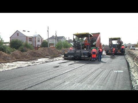 В Курской области вводят новую дорожную технологию