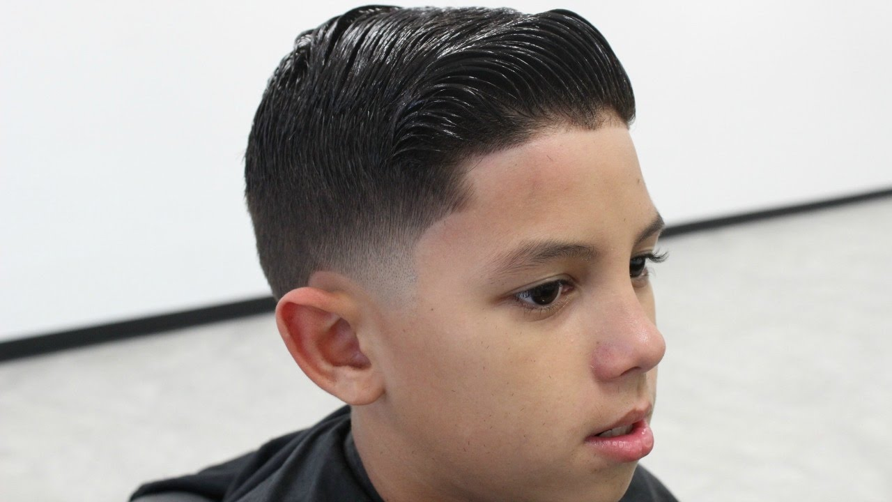 kids comb over haircut | by will perez