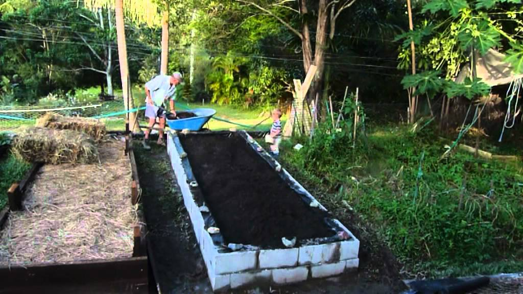 Vegetable Garden Bed Edging