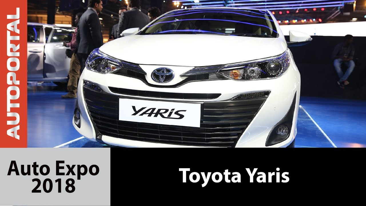 Toyota Yaris at Auto Expo 2018 – Autoportal